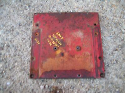 Farmall 504 Rowcrop Gas Diesel Tractor Rear Ih Ihc Top Plate Cover Seat Mount