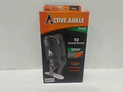 Cramer Active Ankle T2 Brace, Small, White