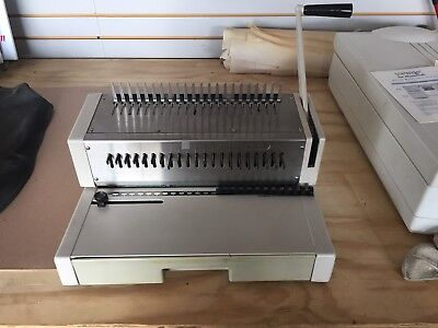 Ibico Industrial Manual Plastic Comb Punch Binder Binding Machine Model C21