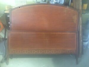 Laminate old style bed frame