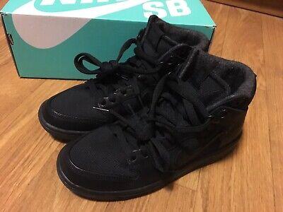 846886-011 Triple Blackout Pullover Hoody NSW MEDIUM Nike SB Icon Pro Hoodie