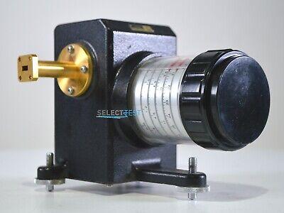 Millitech Dra-28-s0000 0-60 Db Ka Band 26.540 Ghz Wr28 Attenuator Ref. 8396e