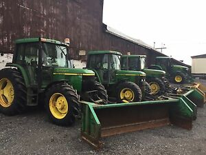 JD 6410 's and 6400 with Plow's