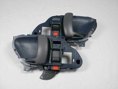 BLUE PAIR Door Handles 1995-1999 SILVERADO SIERRA Chevy GMC c/k 1500 2500 L & R
