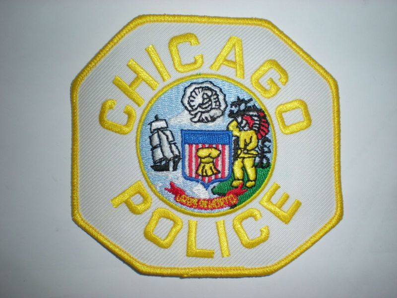 CHICAGO, ILLINOIS POLICE DEPARTMENT PATCH - YELLOW