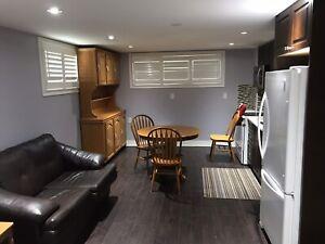 1 bedroom basement apartment