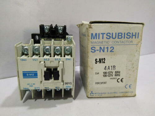 Mitsubishi Electric S-N12 Magnetic Contactor
