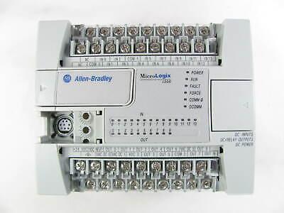 Allen Bradley Micrologix 1200 1762-l24bxb Ser C Frn 11 Missing 3 Covers