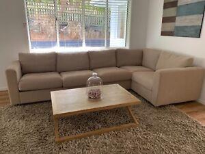 sofa - 5 seat modular couch
