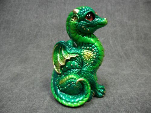 Windstone Editions NEW * Emerald Baby Dragon * Statue Figurine Fantasy