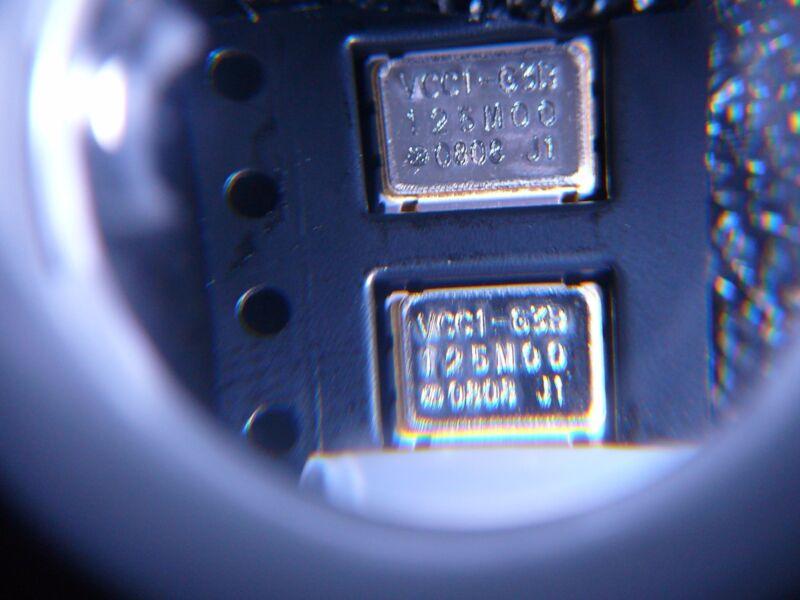 VECTRON VCC1-G3B-125M000 Crystal Oscillator 125MHz CMOS 2.5V SMD **NEW** Qty.2
