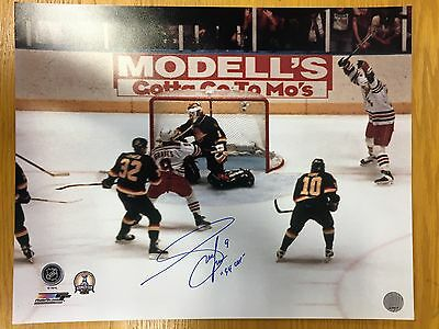 - Adam Graves SIGNED / AUTOGRAPHED 1994 Rangers Game 7 Goal 16x20 Photo with COA