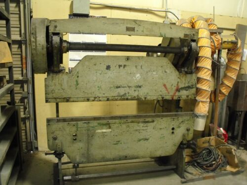 Chicago Steel Mechanical Press Brake Size 335 6 Foot 30 Ton?