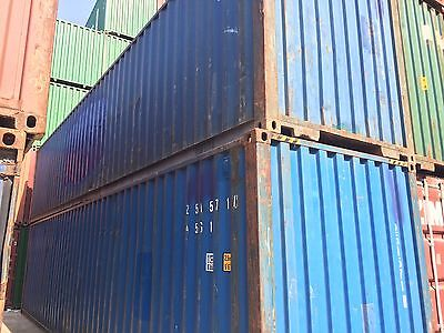 40 Hc Shipping Container Storage Container Conex Box In Dallas Tx