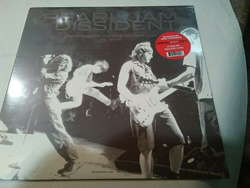 Pearl Jam – Colored Vinyl Westwood ONE FM - Dissident 1994 SEALED MINT VINYL