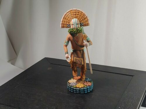 Gambler Kachina, by Mavasta Honyouti - Hopi Carver