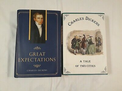 Lot of 2 - Charles Dickens - A Tale of Two Cities & Great Expectations