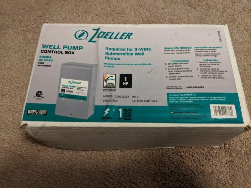 Zoeller Well Pump Control Box 1010-2338 1HP 230 Volts GUARANTEED MONEY BACK