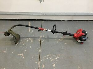 Troy-Bilt 2 Cycle 27cc Curved Grass Trimmer
