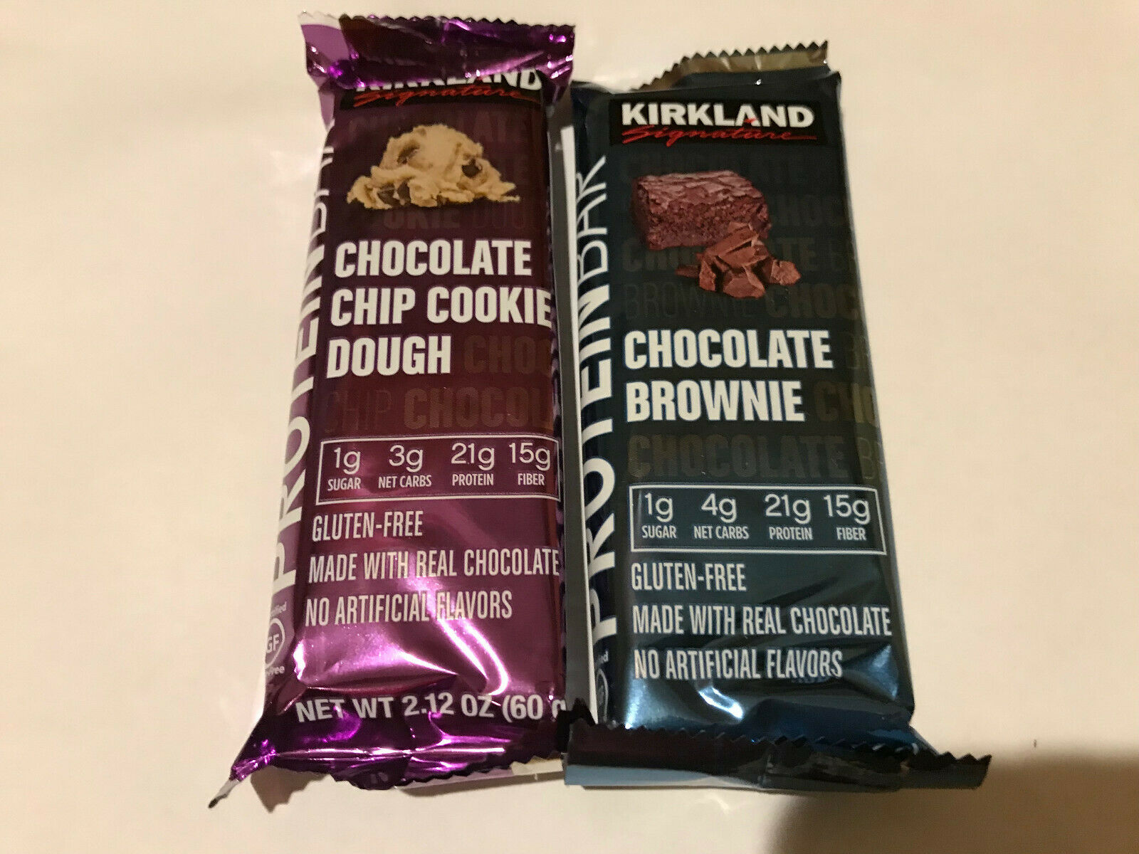 190kcal 21g protein bars 2 12 oz