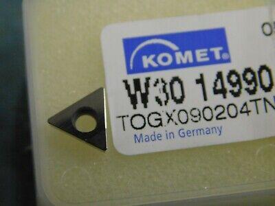 Komet Pcd Turning Insert Togx 090204 Tncbn57 W30 14990.0457