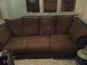 Microfibre Brown Couch Great condition!!!!