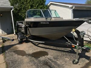 2014 prince craft boat motor and trailer package