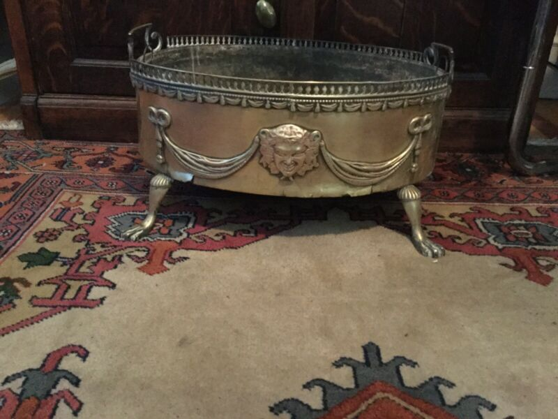18th Century Coal Hod, Scuttle, Shuttle Container,
