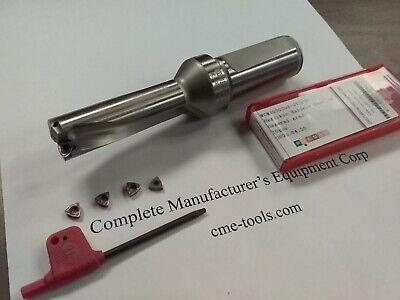 U Drill 1316x2-12x5-12 1 Shk Index Extra 4pcs Wcmx03 Inserts Ud-1316