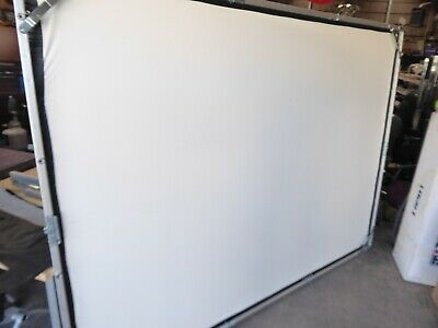 Da-lite Fast Fold 6 X 8 Screen And Frame - No Legs Are Included With Unit
