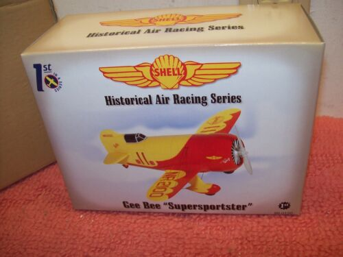 """First Gear Inc Shell Historical Air Racing Series Gee Bee """"Supersportster"""" New!"""