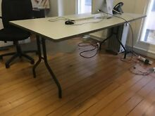 Sturdy table with fold up legs Surry Hills Inner Sydney Preview
