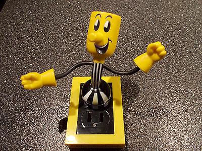Reddy Kilowatt Electric Utility WILLIE WIREDHAND WIREHAND BENDABLE PLUG MAN!