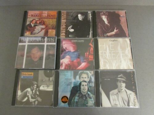 Lot of Various Soft Rock CDs (18) - Used