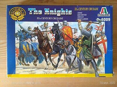 Niños Soldados de Plástico Italieri 1/72è The Knights Xith Crusade De Grupo