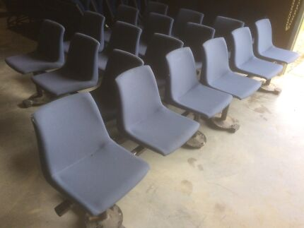Free 56 blue Chairs in good condition