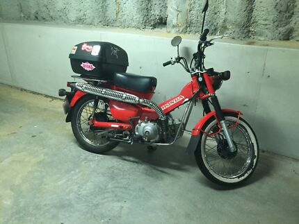 Honda 2012 CT110 Postie Bike Manly Manly Area Preview