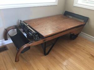 Antique Potato Scale Coffee Table