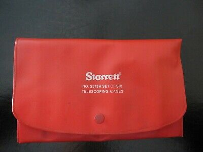 Starrett No. S579h Telescoping Gage Set With Case