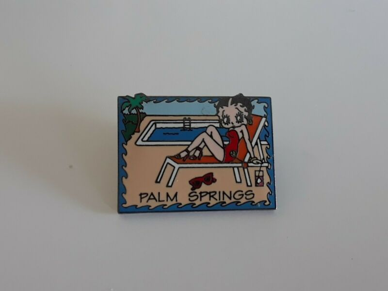 Betty Boop Palm Springs Pin (#2112)