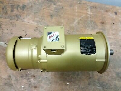 Baldor Vebm3611t 3hp Electric Motor 105604100dqf Stearns Brake 182tc 1760 Rpm