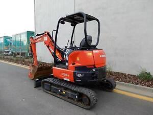 Mini Excavators Dry Hire 3.5t - $250p/d plus GST