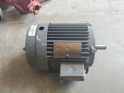 Lincoln Tefc 3 Hp Electric Motor 3515 Rpm 182t Frame 230460v