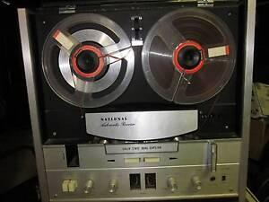 Reel to Reel Tape Recorder NATIONAL RS-790s Bulli Wollongong Area Preview