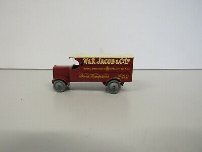 Vintage Matchbox Models of Yesteryear 4 Ton Leyland No.7 Grey Wheels