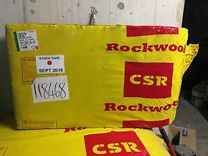CSR Rockwool Insulation Linley Point Lane Cove Area Preview