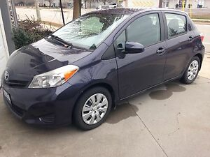 2014 Toyota Yaris LE with KM 19500
