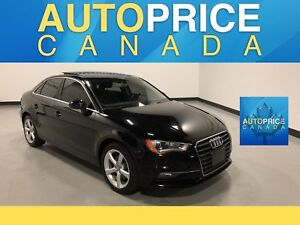 2015 Audi A3 1.8T Komfort PANOROOF|LEATHER|HEATED SEATS