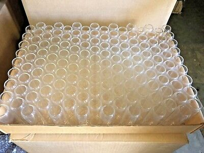 Glass Borosilicate Lab Test Tubes 25mm X 80mm -3 Clear