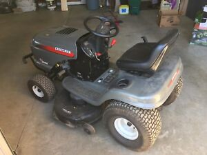 Craftsman Riding Lawn Mower (and accessories) in Great Condition